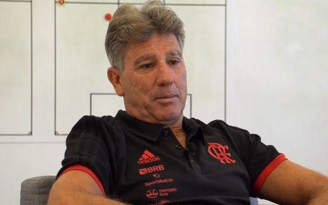 Após realizar primeiro sonho, Renato revela segunda ambição pelo Flamengo: A gente trabalha pra ganhar