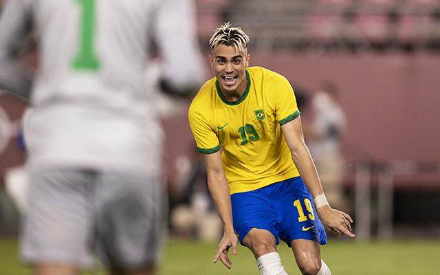 Reinier faz o pênalti decisivo e bota Brasil na final olímpica - Lucas Figueiredo/CBF